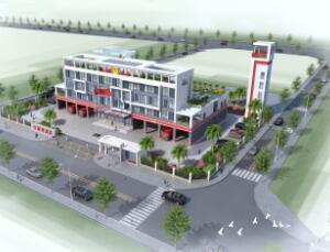 贺州站规划_广州市弘基市政建筑设计院有限公司深圳分公司